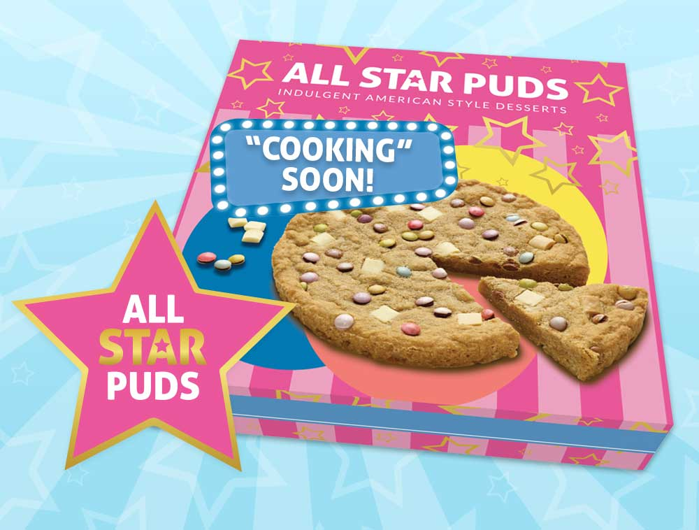 All Star Puds - New Range Launching 2021