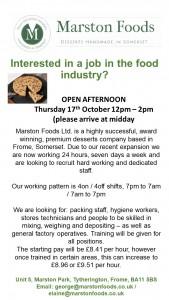 Recruitment Open Day Oct 2019